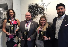 Chapter Award winners