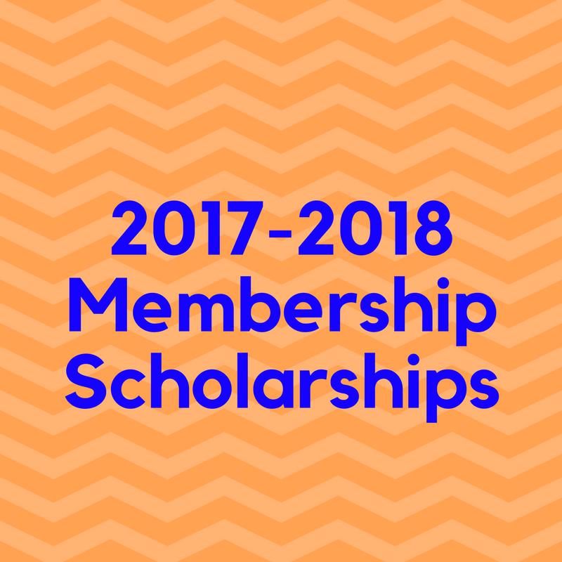 Membership Scholarships 2017-2018